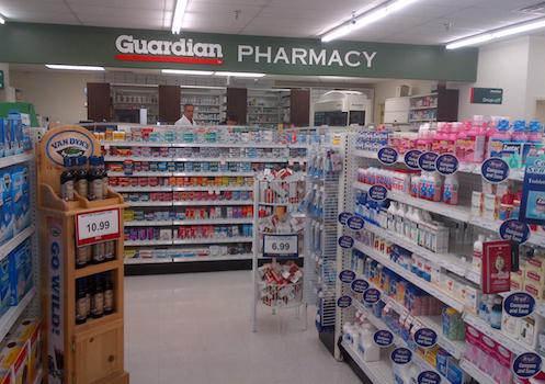 McKesson Canada Guardian Rx area