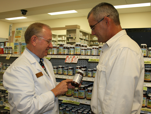 Ritzman pharmacist customer