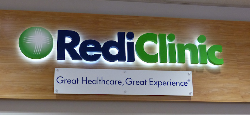 RediClinic sign closeup_featured