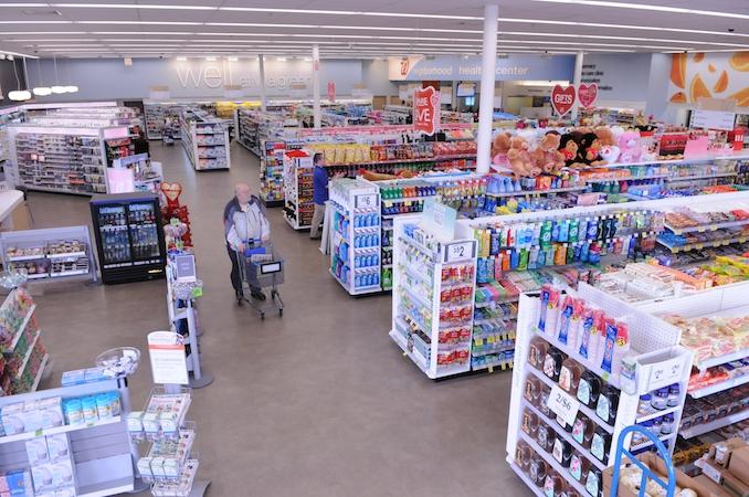 Walgreens Well Experience format_overhead shot