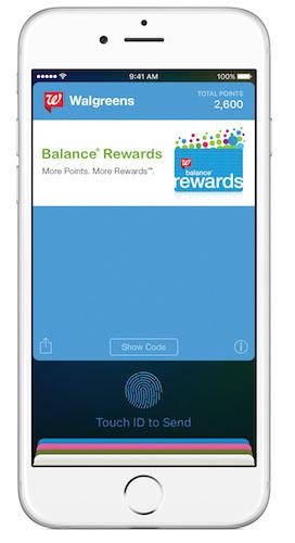 Balance Rewards Apple Pay Integrate