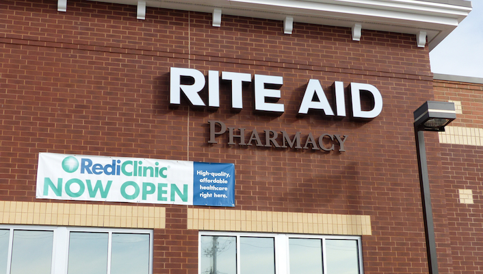 Rite Aid_Newtown Sq_RediClinic sign_featured