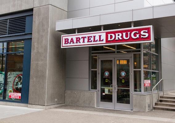 Bartell storefront entrance