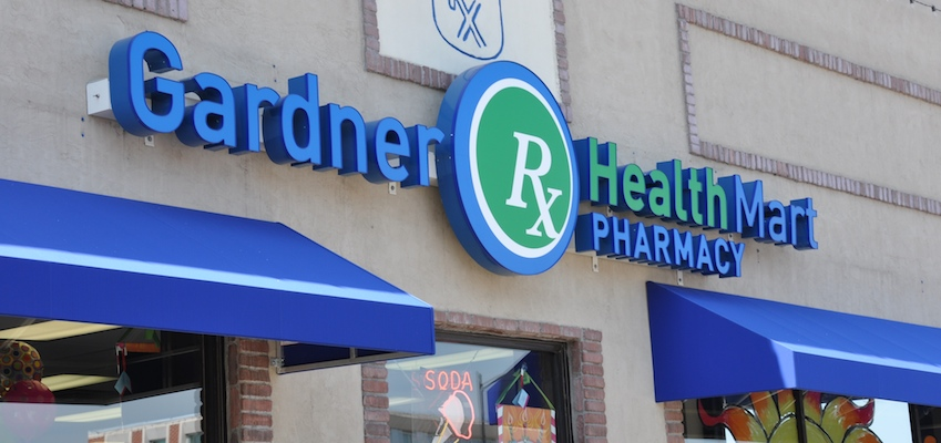 Health Mart pharmacy sign closeup_featured