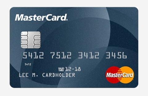 MasterCard EMV chip card