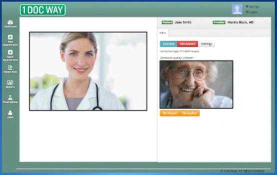 1DocWay telepsychiatry service