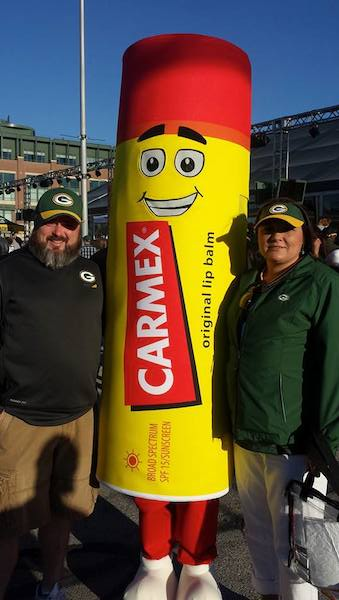 Carmex Green Bay Packers