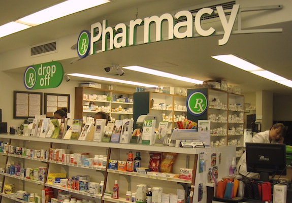 Health Mart pharmacy counter