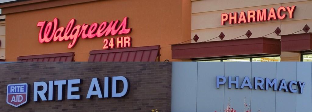 Walgreens Rite Aid Merger_signs