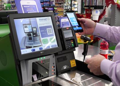 Walmart Pay scan checkout