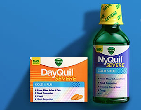 Vicks DayQuil NyQuil Severe