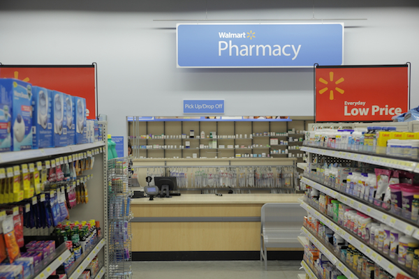 walmart-express-pharmacy interior
