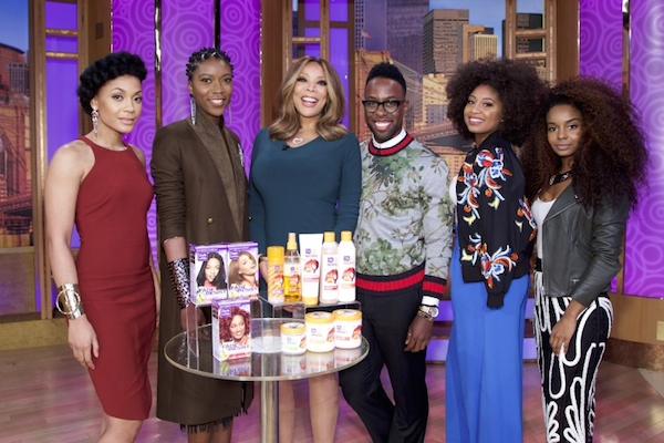 Dark and Lovely_Wendy Williams Show