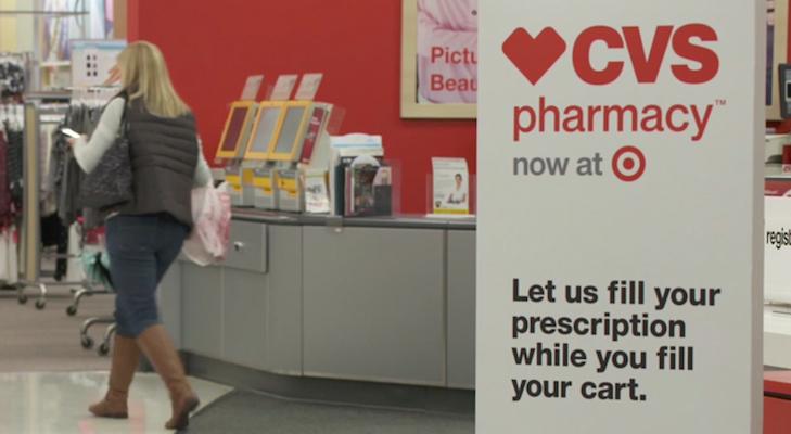CVS Pharmacy sign_Target store