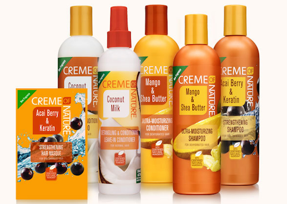Creme of Nature_new Certified Natural Ingredients line