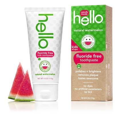Hello kids toothpaste_watermelon