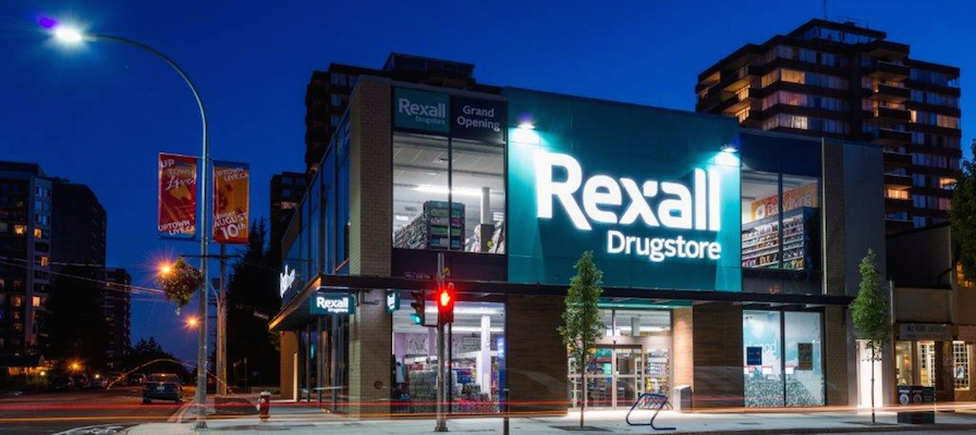 Rexall store_exterior_night