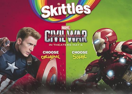 Wrigley Marvel Store Promo