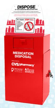 CVS medication disposal kiosk