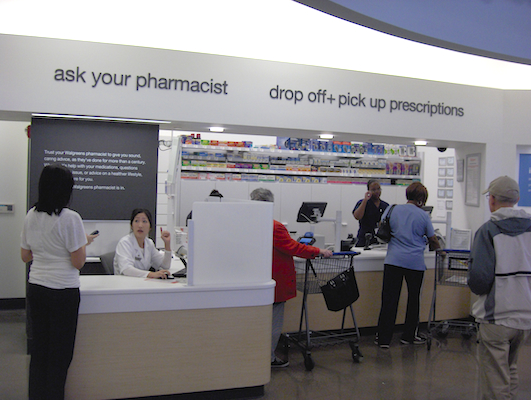 Walgreens pharmacy customers