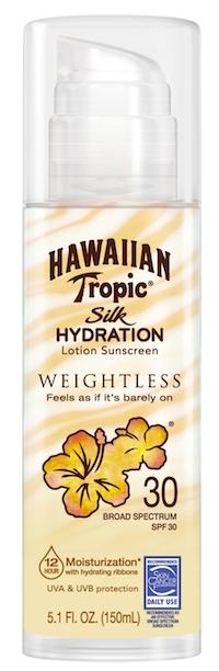 Hawaiin Tropic Silk Hydration Weightless Sunscreen
