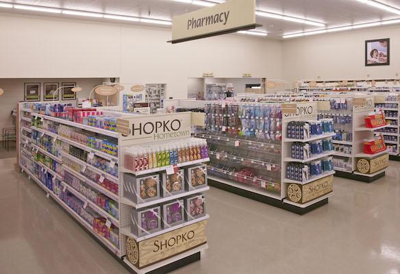 Shopko Hometown pharmacy area