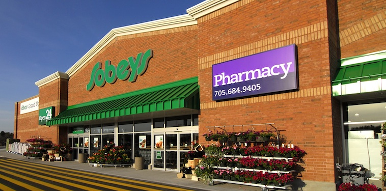 Sobeys store with pharmacy