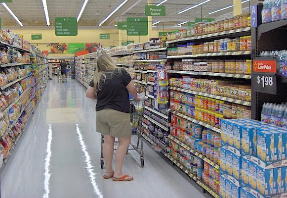 Walmart Neighborhood Market shopper