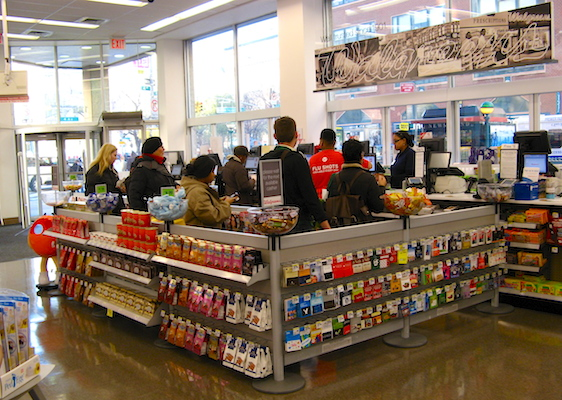 Walgreens store checkout