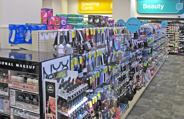 CVS beauty_NYX display
