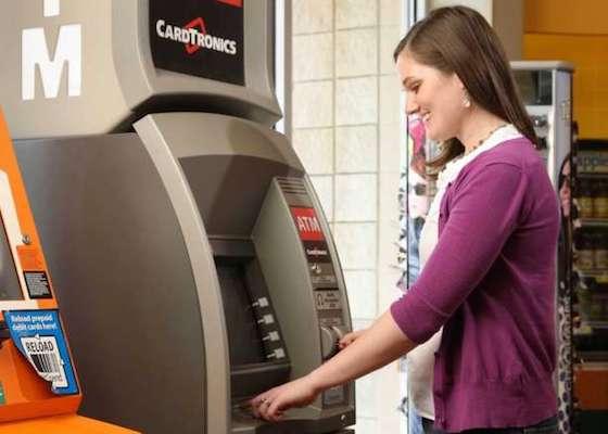 Cardtronics ATM customer