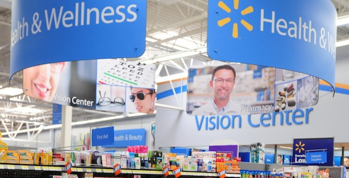Walmart health and wellness