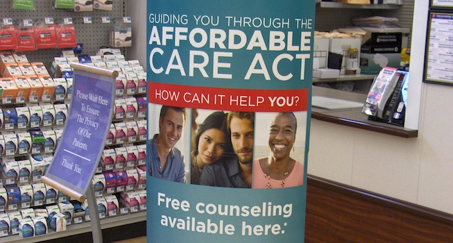 ACA counseling sign_Rite Aid