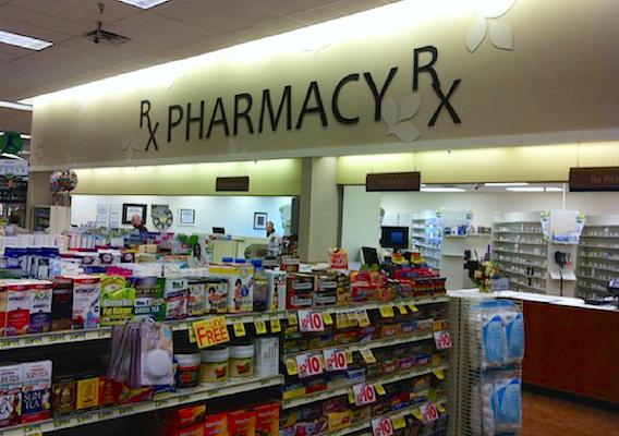 Albertsons pharmacy area