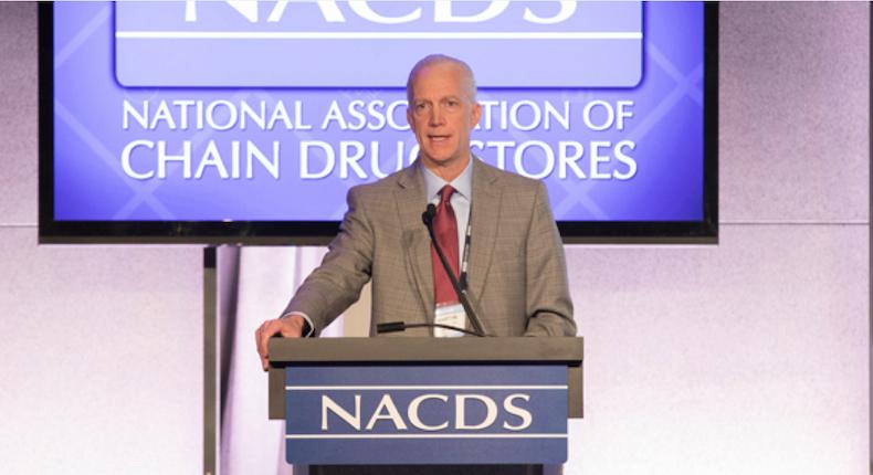 NACDS chairman Martin Otto of H-E-B