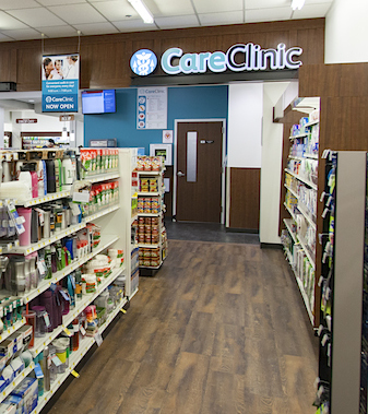 CareClinic entrance_Bartell Drugs
