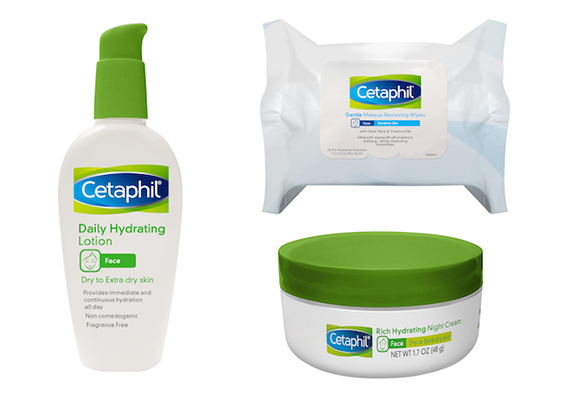 Cetaphil new facial care products