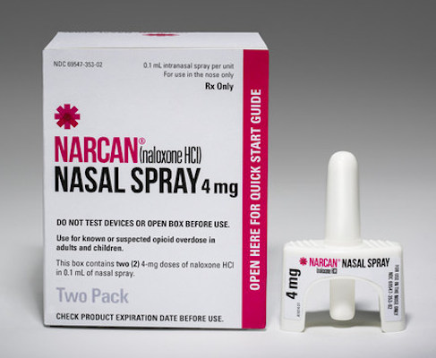 Narcan Nasal Spray box_Adapt Pharma