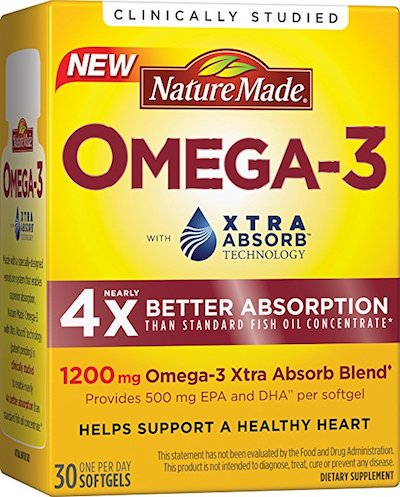 Nature Made Omega-3 Xtra Absorb