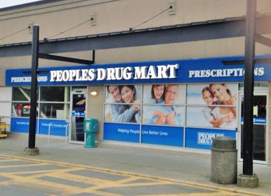 Peoples Drug Mart storefront