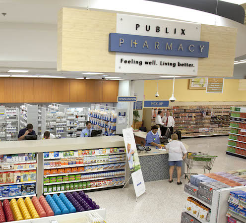 Publix Pharmacy department