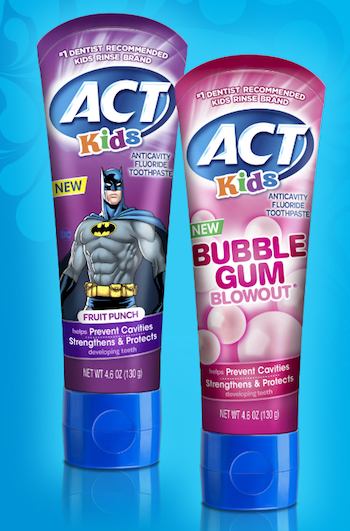 ACT Kids Toothpaste_Sanofi