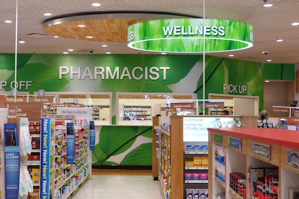 wellness sign_Rite Aid pharmacy