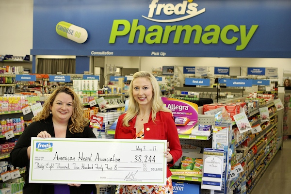 Fred's pharmacy_American Heart Association