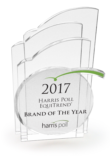 2017 Harris Poll EquiTrend Brand of the Year award