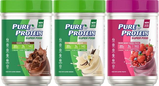 Pure Protein Super Food protein powder