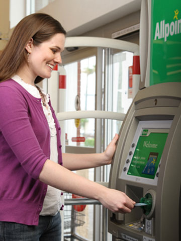 Allpoint ATM customer