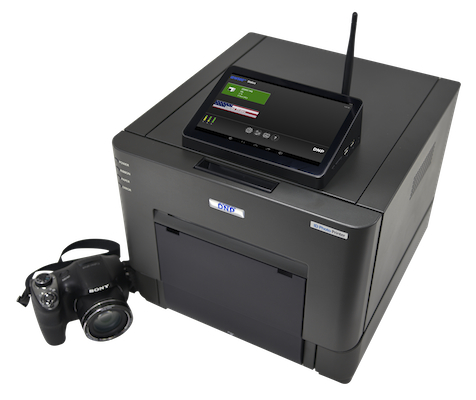 DNP IDW500 Passport and ID photo system