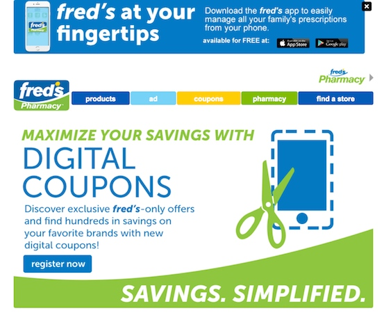 Fred's digital coupons_Fred's mobile app