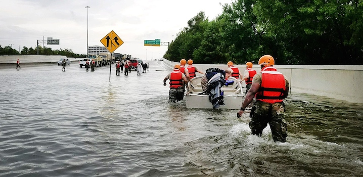 Hurricane Harvey_Texas National Guard rescue